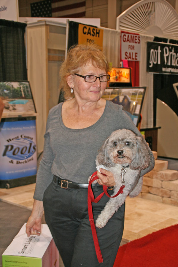 Yes, Florida's Largest Home Show is Dog Friendly.
