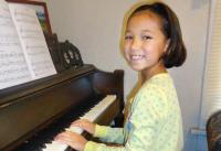 The 2012 Richard's Run for Life race honored Josalyn, who is once again playing the piano and playing with her four younger siblings and the family's two dogs.