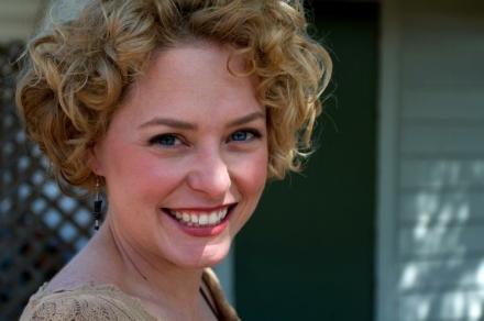 Actress, Kari Goetz. Photograph by Crawford Long.