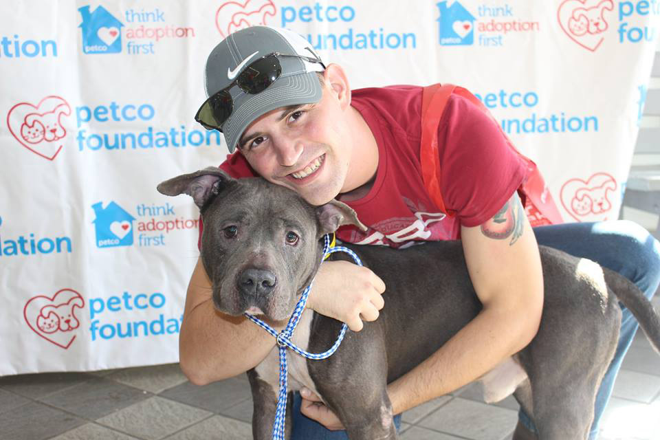 Rock was adopted during the December MEGA Adoption Event in Jacksonville, FL