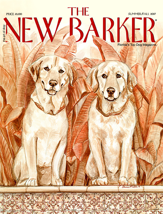 The Art of Dog: Cover Artist Anna Hamilton Fields.
